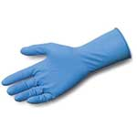 Microflex® SafeGrip® Powder-Free Extended-Cuff Latex Gloves' X-Large' 50/Box