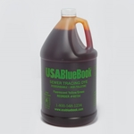USABlueBook® Tracing Dye, Yellow-Green Liquid, Case of Four 1-Gal Bottles