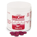 Bright Dyes Fluorescent FWT Red Dye Tablets, 200 Tablets