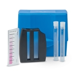 Use this kit to quickly and easily check free and total chlorine levels in your system. Simply add one DPD 1 rapid dissolving tablet to a 5-mL water sample, cap, mix, and take a comparative reading with the Octa-Slide viewer. ...