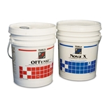 Offense™ floor stripper is a high-performance, fast-acting no-rinse stripper. Penetrates and dissolves hard-to-remove floor finish buildup. Works on a wide variety of floors including vinyl, concrete and marble. Nova X™ floor finish holds up under daily or frequent burnishing. It ...