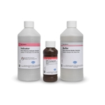 These reagents were developed together with the Hach CL17 Chlorine Analyzer and are formulated to meet the strictest quality standards. Hach reagents provide a guarantee of accurate' consistent results. Free chlorine reagent set consists of one 24-gram bottle of DPD ...