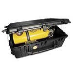 This heavy-duty case is perfect for storing your SCBA between uses. The built-in handle and wheels also make it easy to transport your SCBA to job sites. Case has a lifetime warranty and is watertight to 30 ft. Each case ...