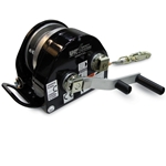 This top of the line winch features a digital usage indicator to keep track of drum revolutions and help determine service intervals. It also has a removable handle that allows two cranking speeds. The 4:1 drive is made for everyday ...
