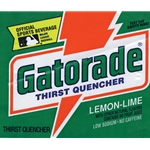 We stock Gatorade instant powder in the economical commercial size for use in coolers. Each package makes 2-1/2 gallons. Variety Pack includes: Lemon-Lime, Orange, Fruit Punch & Riptide Rush™. 32 packages per case.