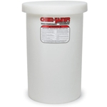 Chem-Tainer® Open-Top Tank w/ Lid' Translucent' 100 Gallon