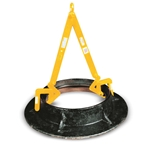 Cam action clamps provide positive locking under a constant load and are easy to attach and release. The 2-leg version has 22