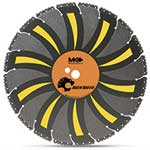 """Use MK diamond blades dry on portable cut-off saws, and dry or wet on walk-behind saws. """"Tiger Tooth"""" multi-purpose blades give you flexibility to cut cured or green concrete, asphalt or ductile iron, as well as steel, wood, plastic and ..."""