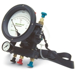 Mid-West Instruments has been producing quality backflow test kits for 30 years. Choose from three-valve or five-valve styles. The durable carrying case features compartments for fittings and other additional accessories. Five year warranty. Kit includes: nine straight adapter fittings, line ...