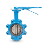 Watts butterfly valves are designed for use with ANSI 125 and 150 flanges. Larger diameter valves are available through 48