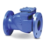 Flanged ductile iron bodies feature access covers secured with stainless steel fasteners for easy inspection and maintenance. One-piece neoprene flappers have encapsulated steel in the sealing surface area for strength and rigidity, and swing fully open for unrestricted flow with ...