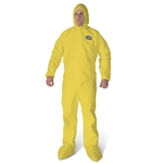 KleenGuard A70 Coveralls Yellow, XL, 12/Case