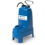 Goulds PV Series sewage pumps are ideal for dewatering and heavy-duty sump applications in residential systems. Their motor has built-in thermal overload protection with automatic reset, and their recessed vortex impeller allows free flow through the volute. Cast iron construction ...