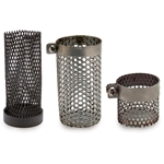 Foot strainer protects the pump from damage due to unsuspected solids in your container.