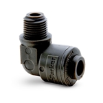 These lightweight push-in fittings let you connect plastic tubing without using tools. Their deep tube seat and all-plastic collet design provide compatibility with polyethylene, fluoropolymer and other plastic tubing. Fittings feature PVDF and Viton® construction, making them ideal for use ...
