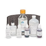 Use these high-quality reagent sets to determine Total Kjeldahl Nitrogen by Digesdahl digestion and the Nessler Method. Includes: hydrogen peroxide (50%), mineral stabilizer, Nessler reagent, polyvinyl alcohol dispersing agent, potassium hydroxide standard solution, sulfuric acid and TKN indicator.
