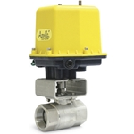 Apollo actuated ball valves are easy to install and built to last. Choose from valves with an electric actuator or with a pneumatic spring return actuator for fail-safe operation in any situation. All valves come in your choice of stainless ...