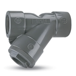 Protect piping system components from dirt and debris in the process media. Screens are ultrasonically welded for superior strength and have an open area at least 2X the cross section of the pipe size. All Y-strainers work equally well in ...