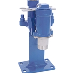 Base elbow guide rail systems allow fast installation and removal of submersible pumps. To service your pump, simply pull the pump up with chain or cable (sold separately), and slide the pump up the rails—all of your piping stays in ...