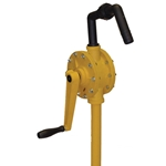 This pump is constructed of polypropylene, Teflon® & Ryton®.