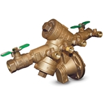Use the Wilkins 975XL backfl ow preventers to protect against both back siphonage and backpressure of contaminated water into the drinking water supply. All models feature a bronze valve body and access covers with two full-port ball valves and four ...