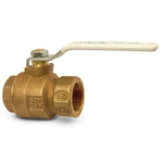Lead-free Apollo ball valves comply with the Safe Drinking Water Act and hold the most pertinent agency approvals. The premium 77CLF-A series valve features cast-bronze construction. All valves include a white handle and hang tag indicating they are lead free. ...