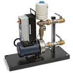 Use these small booster pump systems to boost pressure in clean water applications. They feature EBARA stainless steel end-suction centrifugal pumps for dependable continuous-duty performance. All systems feature a pressure transducer, pressure gauge, and AC Tech variable frequency drive (VFD) ...