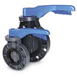 Economical Hayward butterfly valves are manufactured from nonconductive PVC that's immune to most types of corrosion. They contain no byproducts that can leach out and contaminate sensitve fluids. The full body liner seal means that the process media never contacts ...