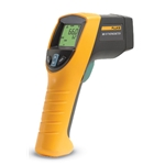 Fluke infrared thermometers respond quickly to a wide range of temperatures. Get safe temperature readings in less than a second. Their clear readings make distant surface measurement easy. 2-year warranty. The Fluke 561 offers 12:1 optical resolution. Selectable functions include ...