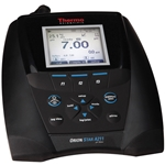 These advanced benchtop pH/mV meters feature Thermo Scientific Orion quality. Meters have a large informative screen that lets you simultaneously view the reading, temperature, and meter and probe status icons. Simple button layout and onscreen messages make calibration and setup ...