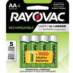 Rayovac batteries are the most respected name among industrial users. For use with your rechargeable batteries, choose from three different charger types. We recommend using the Smart charger with the Recharge Plus AA and AAA series batteries for maximum performance. ...