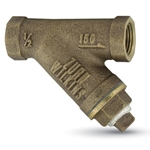 Wilkins Model S strainers protect delicate equipment such as pressure regulators, meters and backflow preventers by filtering sediment that can cause premature failure. The Model S is rated 300 psi WOG and 150 psi steam. Flush strainer of small contaminants ...