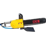 These air-powered chain saws have the power to get tough jobs done. Cut pipes in the ground and trenches safely, quickly and easily with minimal excavation. Saws feature Tiger Tooth chain which cuts through ductile iron, PVC, HDPE and similar ...