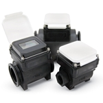 Use these full-bore plastic-bodied meters for flow and usage monitoring, as well as regulatory compliance. They're great for wells, wastewater and water reclamation operations. Corrosion-resistant polypropylene flow tube is compatible with a wide range of chemicals. Installation is easy thanks ...