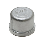 304 Stainless Steel Cap 3/4 in
