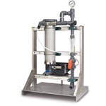 miniBLEND liquid polymer blending systems offer a superior alternative to traditional systems. Their patented, non-mechanical HydroAction Technology (proven by 20+ years of independent side-by-side trials), produces more than six times the mixing energy per unit volume of comparably-sized mechanical mixers. ...
