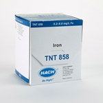 TNTplus reagents feature a unique barcode label on each vial that Hach instruments such as the DR3900 and DR6000 automatically read to quickly identify the appropriate method and take the measurement. Freeze-dried reagent is integrated into a sealed DosiCap cap ...