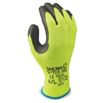 S-TEX 300 gloves feature patented Hagane Coil™ fiber technology. Seamless high-visibility safety yellow liner is engineered with a stainless steel core, providing extra protection against cuts and lacerations. Rough textured latex palm coating ensures a great wet/dry grip. Machine washable. ...