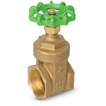 Lead Free Brass Gate Valve 3 in NPT' 200 WOG' 01718501QL