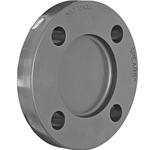 "1"" PVC Blind Flange CL150 150 psi' 853-010"
