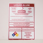 Full disclosure signs feature specific detailed information, including full color hazmat symbols, antidotes, disposal info, personal protection, handling and even extinguishing. Signs have UV inhibitors and a clear urethane coating; they will not rust or corrode. Sorry, no mixing for ...