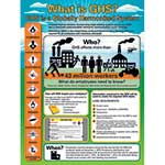 Hang posters around your facility to provide detailed information about the new GHS standards.