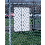 Use these brackets to securely mount all types of signs to fences and round posts. Their aluminum construction ensures optimal durability in harsh outdoor conditions. Fence sign brackets are available in 2 sizes. The 17
