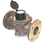 Turbine water meters are designed for use in potable cold water applications where moderate to high sustained flows are required. Due to their high capacities, turbine meters are popular choices for mainline flowmeters in well houses and for influent or ...