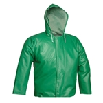 These high-performance jackets withstand the toughest jobs. Their mildew- and flame-resistant polyester knit material features a specialty PVC coating that protects against aggressive chemicals. Heavy exterior coating offers excellent permeation resistance. Therm-O-Rad sealed seams means no needle holes for ...