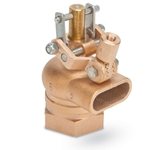 "Lead-Free Brass Float Valve' 1-1/2"" NPT Inlet' Free Flow Outlet' R605T-1-1/2-LF"