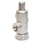 Kunkle 171S valves relieve excess pressure from service lines and tanks while pumps are running continuously. 316 SS construction makes them highly corrosion resistant, and an ideal choice for potable water applications. Every valve is configured to your desired set ...