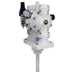 Fully assembled and ready for use right out of the box' these air-operated double diaphragm (AODD) pumps come complete with down pipe. They're ideal for transferring liquids from a 55-gallon drum. Pumps feature an installed air filter/regulator that removes solid ...