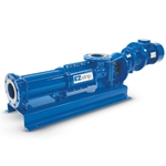 Use these heavy-duty progressive cavity pumps for your toughest sludge applications, including everything from digesters to belt presses. Their patented split coupling allows for quick and easy disassembly and maintenance with the pump still in place. Maintenance time is reduced ...