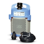 The Sulzer Water Drainer Pump System is a submersible effluent, dewatering pump completely encased in a strainer. With an integral float switch, selector switch for manual or automatic operation, and a built-it check valve, this versatile pump packs a lot ...
